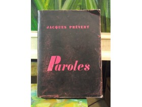 JACQUE PREVERT - PAROLES