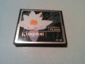 Kingston 1GB Compact Flash Memory Card