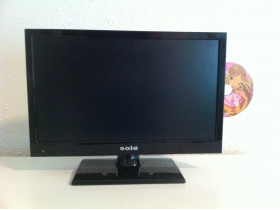 "LCD TV Sole 11""+ DVD"