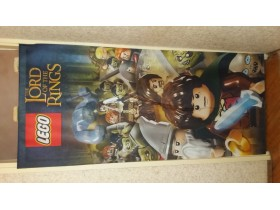 LEGO The Lord of The Rings zastava - baner 200x88cm