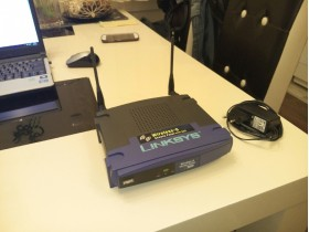 LINKSYS Wireless Acces Point wap54g v3.1
