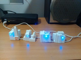 LONELY CITY USB HUB 4 PORTS