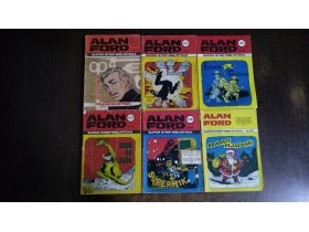 LOT Alan Ford Vjesnik 87 komada