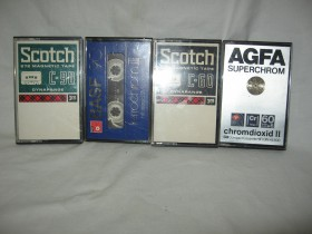 LOT -BASF,SCOTCH,AGFA