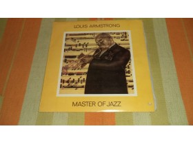 LOUIS ARMSTRONG - MASTER OF JAZZ  (LP - Album PGP RTB)
