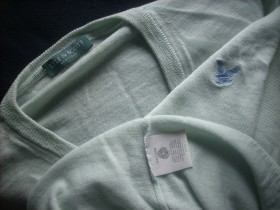 LYLE & SCOTT Scotland, 100% new wool, prolećni, XL
