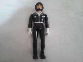 Laser Force Black Suit Pilot Vintage Action Figure 1983