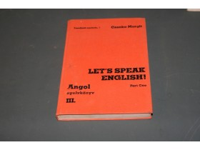 Let s speak english angol nyelvkonyv