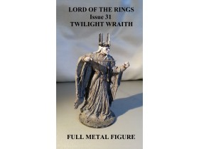 Lord of the Rings br.31 Twilight Wraith METAL FIGURA