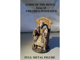 Lord of the Rings br.43 King Theoden FULL METAL FIGURA