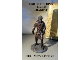 Lord of the Rings br.47 SHAGRAT FULL METAL FIGURA