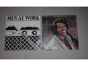 Lot 2 LP ploče- Men at work i James Brown