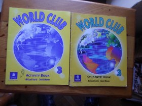 M.HARRIS-WORLD CLUB 3 ENGL. JEZIK UDŽBENIK RAD.SVESKA