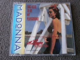 MADONNA - This Used To Be My Playground (CD Singl)