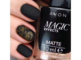 MAGIC Effects MATTE lak za nokte.....BLACK