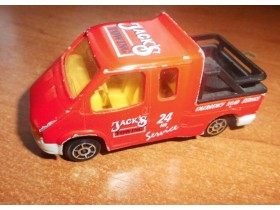 MAJORETTE - FORD TRANSIT  1/60 MADE IN FRANCE