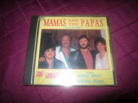 "MAMAS and the PAPAS   ""Live in 1982"""