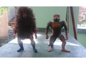 MASTERS OF THE UNIVERSE- GRIZLOR i SAUROD
