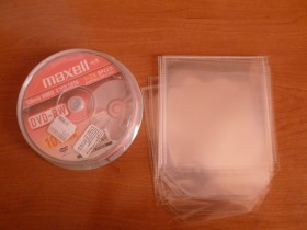 MAXELL DVD-RW REWRITABLE NOVO +10pvc koverata za cd
