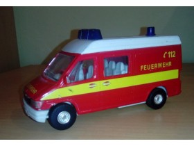 METALNA AMBULANTNA KOLA 112 - TINS' TOYS