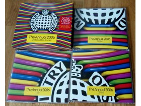MINISTRY OF SOUND ANNUAL 2006 2xcd+ dvd