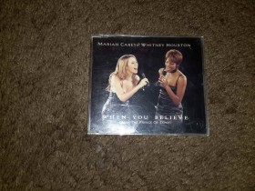 Mariah Carey & Whitney Houston - When you believe CDS