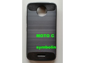 Maska TPU BRUSHED za Motorola Moto C plus  black