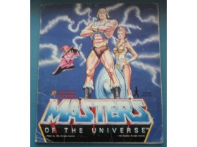 Masters of the Universe Panini pun album sa sličicama