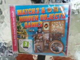 Match 3& hiden objects games