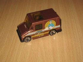 Matchbox Delivery Service Truck