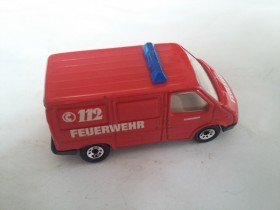 Matchbox Ford Transit Ambulance Fire Emergency Vehicle