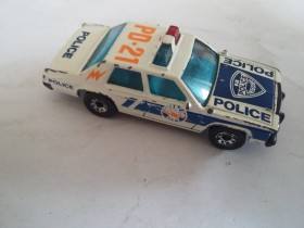 Matchbox Intercom City Police Car