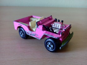 Matchbox - Jeep Hot Rod - Made in England 1971