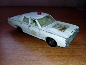 Matchbox - Mercury police 55 or 73 by Lesney