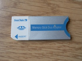 Memory Stick Duo Adapter