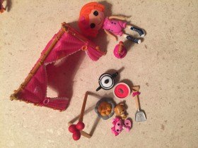 Mini Lalaloopsy piknik set