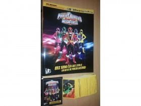 Mocni Rendzeri - Power Rangers - album + komplet set