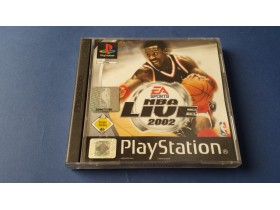 NBA Live 2002 - Playstation 1