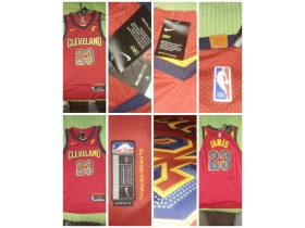 NBA Nike dres , LeBron James #23 , S, Crveni