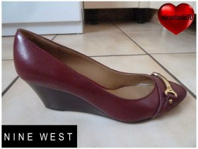 NINE WEST bordo PREFINJENE cipele br 38-24cm NOVO