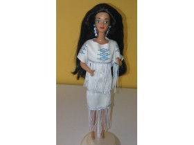 Native American Barbie 1992. Dolls Of The World