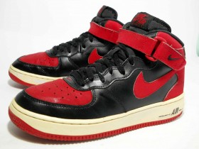 Nike Air Force 1 Mid (gs) Hi Top Trainers 314195 044