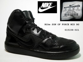 Nike SON OF FORCE MID BG,615158-021,MOCNE!