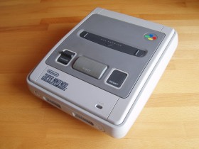 Nintendo SNES - konzola - made in Japan