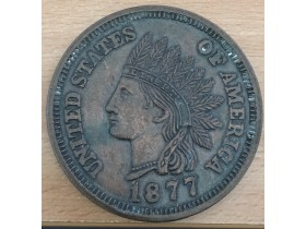 ONE CENT 1877