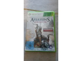 ORIGINAL ASSASSINE CREED 3 XBOX 360