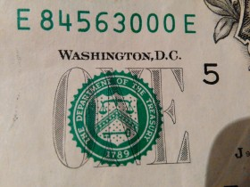 One American dollar ( Orginal ) 02