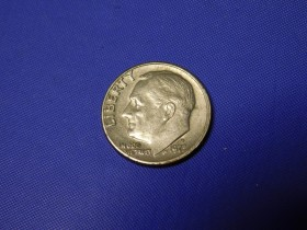 One dime 1973..