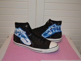 Original Converse all star Metalica