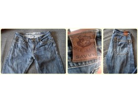 Original SAVVY DENIM farmerke br.32/33